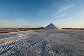 France - The saltworks in Aigues-Mortes