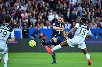 But Zlatan IBRAHIMOVIC - 08.05.2015 -  PSG / Guingamp - 36eme journee de Ligue 1<br />