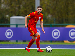 CARDIFF, WALES - Saturday, November 16, 2019: Wales' Joseph Adams during the UEFA Under-19 Championship Qualifying Group 5 match between Russia and Wales at the Cardiff International Sports Stadium. (Pic by Mark Hawkins/Propaganda)