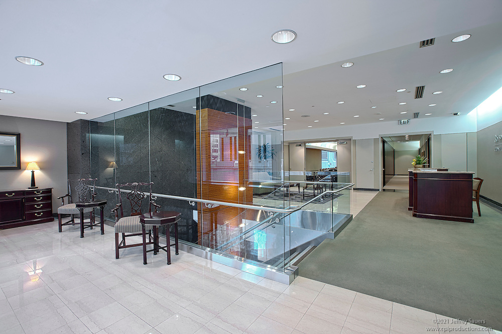 Baltimore MD downtown office building 36 S. Charles St. by Jeffrey Sauers of Commercial Photographics.