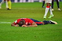 Deception Djibril SIDIBE - 24.01.2015 - Lille / Monaco - 22eme journee de Ligue1<br />Photo : Dave Winter / Icon Sport