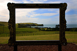 NEW ZEALAND WAHANGAPARAOA 13DEC07 - Picture frame view of Shakespear Regional Park, Wahangaparaoa peninsula north of Auckland...jre/Photo by Jiri Rezac..© Jiri Rezac 2007..Contact: +44 (0) 7050 110 417.Mobile:  +44 (0) 7801 337 683.Office:  +44 (0) 20 8968 9635..Email:   jiri@jirirezac.com.Web:    www.jirirezac.com..© All images Jiri Rezac 2007 - All rights reserved.