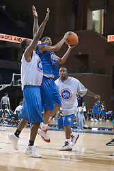 Player #17.  The National Basketball Players Association held a camp for the Top 100 high school basketball prospects at the John Paul Jones Arena at the University of Virginia in Charlottesville, VA from June 20, 2007 through June 23, 2007.