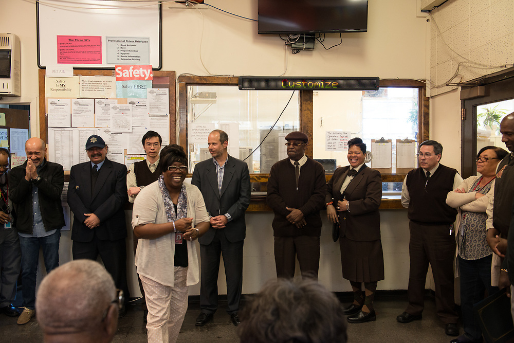System Wide Operator of the Month Ceremony at Kirkland Division   February 27, 2015