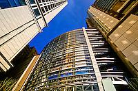 Oazo Building, Marunouchi (Marunouchi Hotel on right), Tokyo, Japan