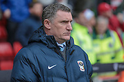 Tony Mowbray (Coventry City) during the Sky Bet League 1 match between Sheffield Utd and Coventry City at Bramall Lane, Sheffield, England on 13 December 2015. Photo by Mark P Doherty.