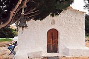 Greece, Rhodes, Kritinia Small chapel