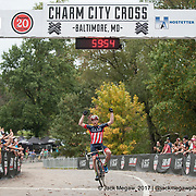 Stephen Hyde of Cannondale CX World wins the UCI C1 race on Day Two of the Charm City Cross in Baltimore, United States. <br /> <br /> Jack Megaw