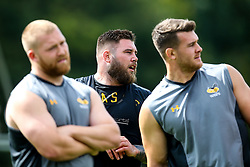 Kieran Brookes of Wasps - Mandatory by-line: Robbie Stephenson/JMP - 07/08/2019 - RUGBY - Broadstreet RFC - Coventry, England - Wasps Preseason Training