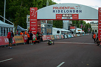 Rafal Wilk (POL) H4 crosses the line to win the H4 Men's race in The Prudential RideLondon Handcycle Grand Prix. Saturday 28th July 2018<br /> <br /> Photo: Ian Walton for Prudential RideLondon<br /> <br /> Prudential RideLondon is the world's greatest festival of cycling, involving 100,000+ cyclists - from Olympic champions to a free family fun ride - riding in events over closed roads in London and Surrey over the weekend of 28th and 29th July 2018<br /> <br /> See www.PrudentialRideLondon.co.uk for more.<br /> <br /> For further information: media@londonmarathonevents.co.uk