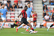 Jefferson Lerma scores for Bournemouth*** during the Pre-Season Friendly match between Bournemouth and SS Lazio at the Vitality Stadium, Bournemouth, England on 2 August 2019.