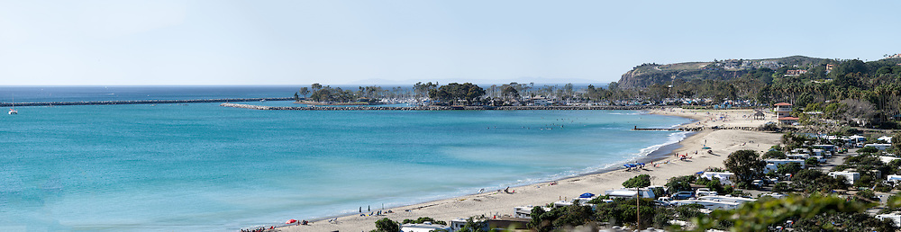 Dana Point California Pano Stock Photo