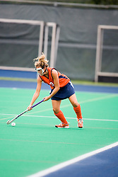 Virginia Cavaliers B/M Haley Carpenter (3)..The #10 ranked Virginia Cavaliers fell to the #7 ranked Penn State Nittany Lions 3-1 at the University Hall Turf Field in Charlottesville, VA on August 26, 2007.