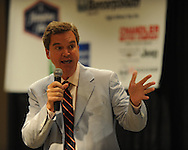 Sam Haskell was the featured speaker at the Oxford-Lafayette County Chamber of Commerce annual banquet at the Oxford Conference Center in Oxford, Miss. on Thursday, June 10, 2010.