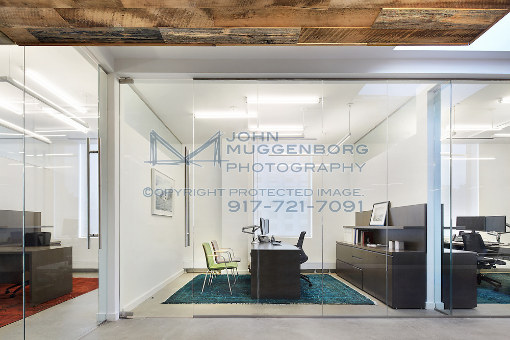 the interior of an office in manhattan s meatpacking district