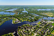 Nederland, Friesland, Gemeente Tietjerksteradeel, 07-05-2018; Earnewald, (Fries: Earnewâld) Nationaal Park Alde Faenen, De Oude Venen.<br /> National Park Alde Faenen.<br /> luchtfoto (toeslag op standard tarieven);<br /> aerial photo (additional fee required);<br /> copyright foto/photo Siebe Swart