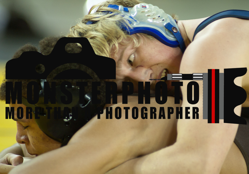 12/18/11 Newark DE: Eric Morris atop of   Elliot Riddick during the Beast of the East 170 pound final Sunday Dec. 18, 2011 at The Bob Carpenter Center in Newark Delaware.<br /> <br /> Special to The News Journal/SAQUAN STIMPSON