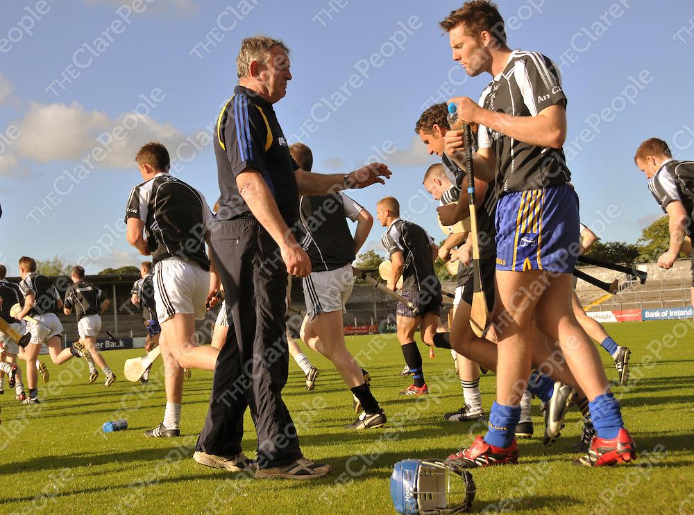 Mike McNamara and Cathal Lafferty