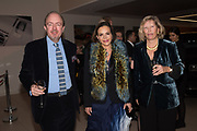 HUBERT DE VINOIS; FIONA DAVIDOFF; LADY ALEXANDRA FOLEY Hubert de Vinols hosts the launch of Tables D'Exception, Rolls Royce Showroom,  Berkeley Sq. London. 29 November 2018