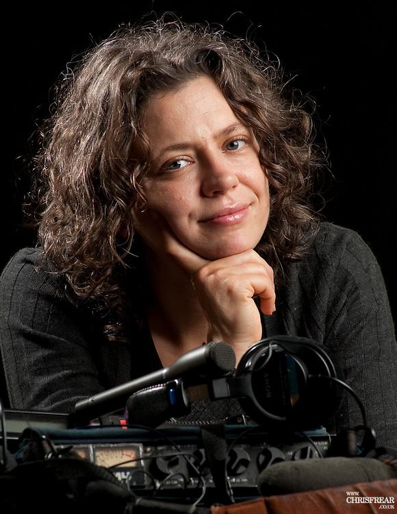 Kyla Brettle Australian Radio Producer <br />Studio Portrait