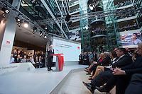 29 JAN 2016, BERLIN/GERMANY:<br /> Martin Schulz, SPD, Kanzlerkandidat, haelt seine Vorstellungsrede, Vorstellung von Schulz als Kanzlerkandidat der SPD zur Bundestagswahl, nach der Nominierung durch den SPD-Parteivorstand, Willy-Brandt-Haus<br /> IMAGE: 20170129-01-030<br /> KEYWORDS: &Uuml;bersicht, uebersicht