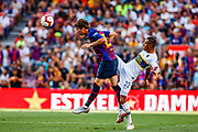 Miranda from Spain during the Joan Gamper trophy game between FC Barcelona and CA Boca Juniors in Camp Nou Stadium at Barcelona, on 15 of August of 2018, Spain, Photo Xavier Bonilla / SpainProSportsImages / DPPI / ProSportsImages / DPPI