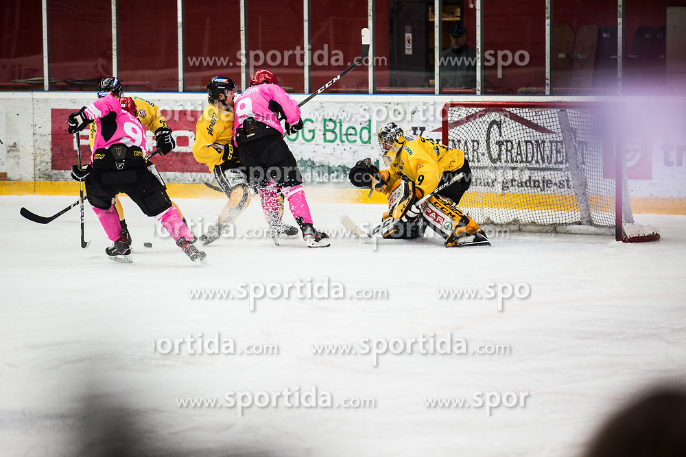 SERSEN Gasper during Alps Hockey League match between HC Pustertal and HDD SIJ Jesenice, on October 3, 2019 in Ice Arena Podmezakla, Jesenice, Slovenia. Photo by Peter Podobnik / Sportida