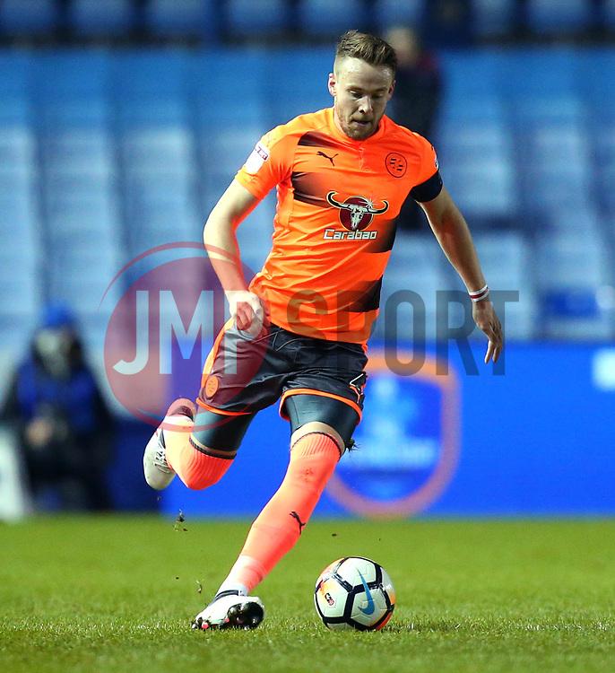 Chris Gunter of Reading - Mandatory by-line: Robbie Stephenson/JMP - 26/01/2018 - FOOTBALL - Hillsborough - Sheffield, England - Sheffield Wednesday v Reading - Emirates FA Cup fourth round proper
