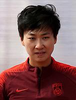 International Women's Friendly Matchs 2019 / <br /> Womens's Algarve Cup Tournament 2019 - <br /> China v Norway 1-3 ( Municipal Stadium - Albufeira,Portugal ) - <br /> BI XIAOLIN of China