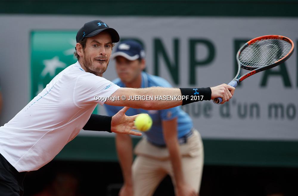 ANDY MURRAY (GBR)<br /> <br /> Tennis - French Open 2017 - Grand Slam / ATP / WTA / ITF -  Roland Garros - Paris -  - France  - 9 June 2017.