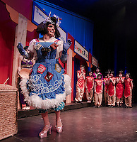 Aladdin dress rehearsal with Winnipesaukee Playhouse.  Karen Bobotas for the Laconia Daily Sun