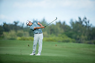 Kurt Kitayama (USA) during the 3rd round of the AfrAsia Bank Mauritius Open, Four Seasons Golf Club Mauritius at Anahita, Beau Champ, Mauritius. 01/12/2018<br /> Picture: Golffile | Mark Sampson<br /> <br /> <br /> All photo usage must carry mandatory copyright credit (© Golffile | Mark Sampson)