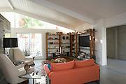 Modern living room home interior