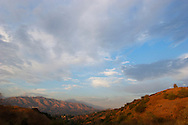 Mount Baldy and San Gabriel Mountains Foothills, Glendora, California