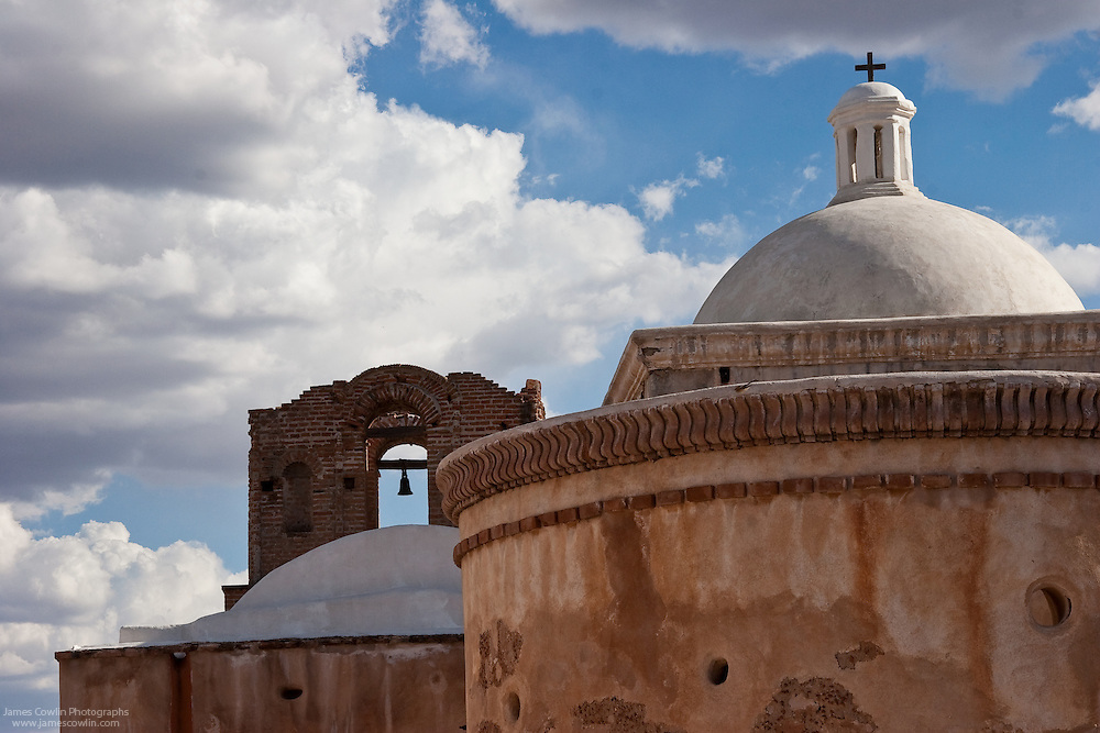 Spanish mission church in Tumacacori National Historical Park, Arizona