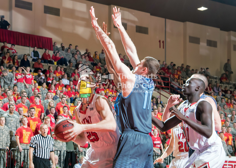 NCAA Men's Basketball - Strong second half leads VMI past The Citadel, 101-78