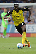 Burton Albion forward Lucas Akins looks at the goal during the EFL Sky Bet League 1 match between Burton Albion and Ipswich Town at the Pirelli Stadium, Burton upon Trent, England on 3 August 2019.