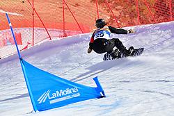 MASSIE Alex, SB-LL2, CAN, Snowboard Cross at the WPSB_2019 Para Snowboard World Cup, La Molina, Spain