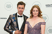 International Young Patrons Gala 2019 van het  Nationale Opera & Ballet in de Stopera, Amsterdam.<br /> <br /> Op de foto:  Beau Schneider and Britte Lagcher