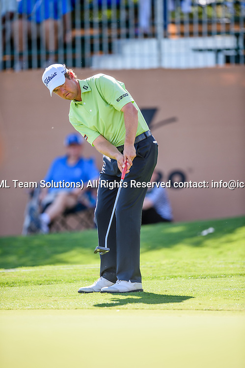 21 April 2016:  Bryce Molder during the first round of the Valero Texas Open at the TPC San Antonio Oaks Course in San Antonio, TX. (Photo by Daniel Dunn/Icon Sportswire)