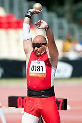 MARINKOVIC Bil, AUT, Shot Put, F11, 2013 IPC Athletics World Championships, Lyon, France