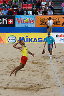 Miguel Maia beach volleyball player
