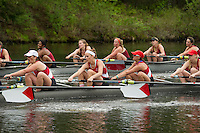 St Paul's School crew at Turkey Pond. ©2016  Karen Bobotas Photographer