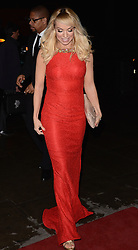 Liz McClarnon attends Helping Hands VIP fundraising Dinner at The Park Lane Hotel, Piccadilly, London on Tuesday 24.3.2015