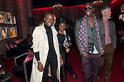 JASON BOATENG, ( COAT) Dinner and party  to celebrate the launch of the new Cavalli Store at the Battersea Power station. London. 17 September 2011. <br /> <br />  , -DO NOT ARCHIVE-© Copyright Photograph by Dafydd Jones. 248 Clapham Rd. London SW9 0PZ. Tel 0207 820 0771. www.dafjones.com.