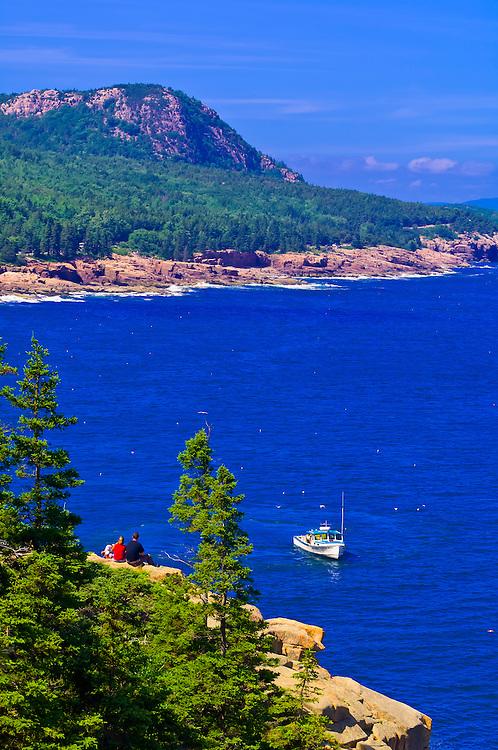 Frenchman Bay, Acadia National Park, Mount Desert Island, Maine, USA