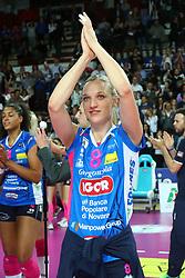 03-05-2017 ITA: Igor Gorgonzola Novara - Liu Jo Volley Modena, Novara<br /> Final playoff match 2 of 5 / Judith Pietersen #8<br /> <br /> ***NETHERLANDS ONLY***