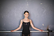 Portrait of Mergime Morina (17), a ballet students of The Kosovo Ballet. The Kosovo Ballet is the national ballet from Republic of Kosovo. The first troupe was formed in 1972, but later it was banned during the years of conflict by the Serbian authority. In 2001, after many years of absence, the first generation of the Kosovo Ballet returned to the stage, while at the same time the High School of Ballet were restored. In 2005 the first class graduated.