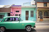 As well as old american cars, Cuba has a lot of old russian Ladas from the late 1970's. <br />
