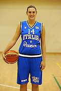 ROMA 02 NOVEMBRE 2011<br /> BASKET NAZIONALE FEMMINILE<br /> NELLA FOTO ALESSANDRA TAVA